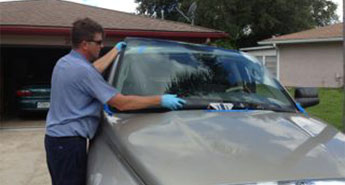 Truck windshield replacement