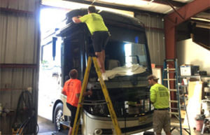 Sarasota RV Windshield Replacement